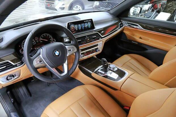 Inside BMW730