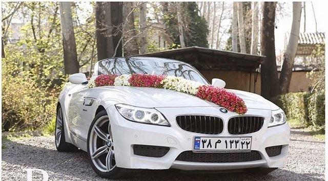 چه مدل خودرویی برای عروسی اجاره کنیم؟