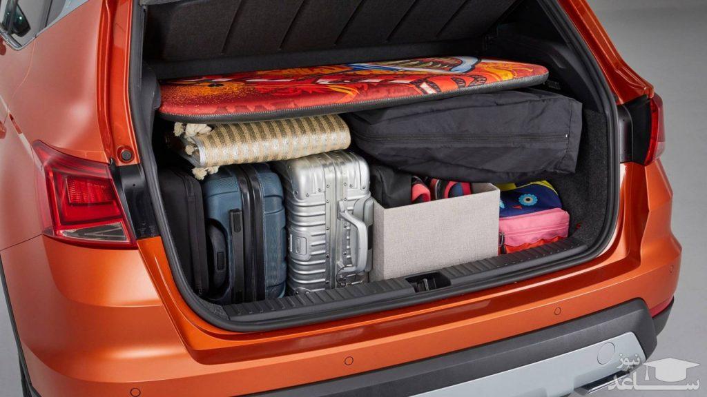 همه چیز درباره ی صندوق عقب خودروی اجاره ای و چیدن وسایل